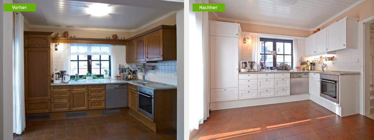 best k chenfronten lackieren lassen gallery house design. Black Bedroom Furniture Sets. Home Design Ideas